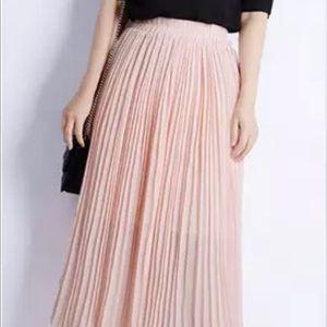 Forever21 Chiffon Maxi Skirt